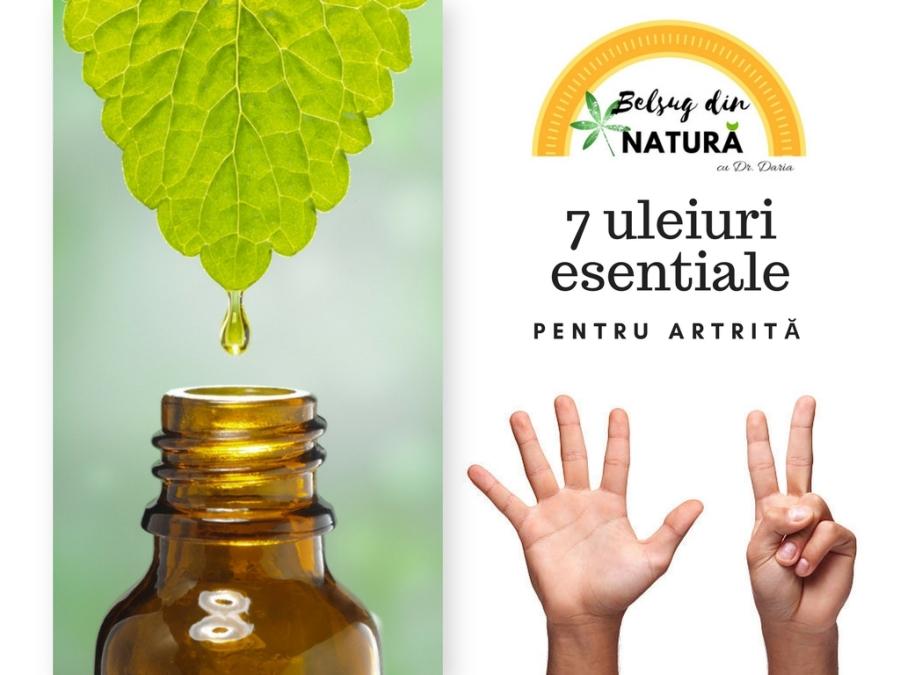 tratamentul inflamației articulare cu uleiuri esențiale
